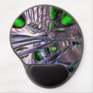 Spiraling out of Control Abstract Gel Mouse Pad