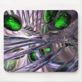 Spiraling out of Control Abstract Mouse Pad