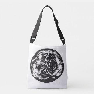 Spiralling Descent Crossbody Bag