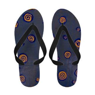 Spirals Flip Flops