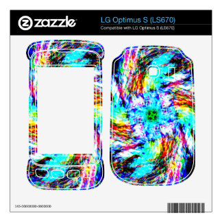 Spirals of Color Decal For LG Optimus S