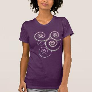 Spirals or waves shirt