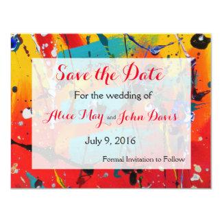 Spirals Wedding Save the Date Card
