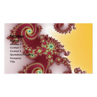 Spiraly Goodnes Double-Sided Standard Business Cards (Pack Of 100)
