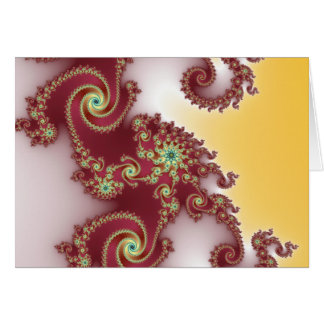 Spiraly Goodnes Greeting Card