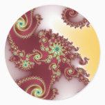 Spiraly Goodnes Classic Round Sticker