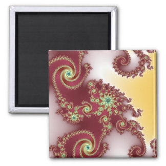 Spiraly Goodnes 2 Inch Square Magnet