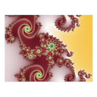 Spiraly Goodnes Tarjeta Postal