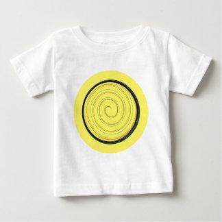 SPIRALYELLOW BABY T-Shirt