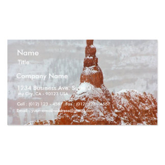 Spire In Bryce Canyon Near Sunset Point Double-Sided Standard Business Cards (Pack Of 100)