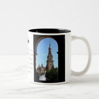 Spire Two-Tone Coffee Mug
