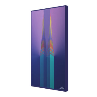 Spires Abstract Canvas Print