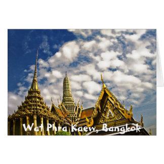 Spires of Wat Phra Kaew Card