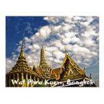 Spires of Wat Phra Kaew Postcard