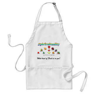 Spirfruituality: What kind of Fruit is in you? Adult Apron