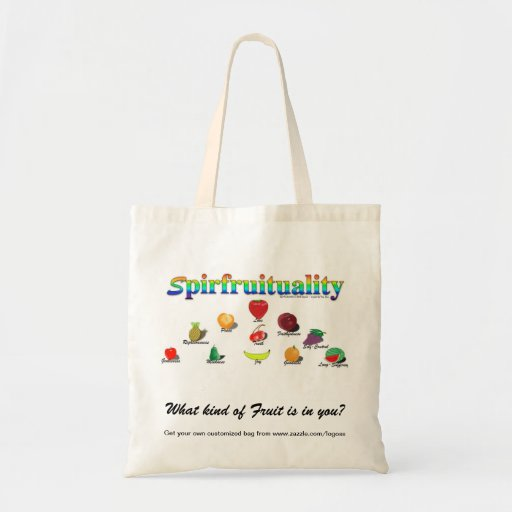 Spirfruituality: What kind of Fruit is in you? Budget Tote Bag