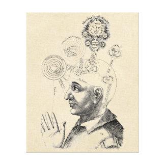 """Spirit and Consciousness """"Geist und Bewusstsein"""" Canvas Print"""