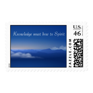 Spirit and Knowledge Postage Stamp