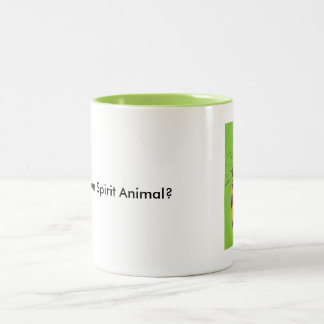 Spirit Animal Butterfly Two-Tone Coffee Mug