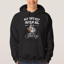 Spirit Animal Sheep Hoodie