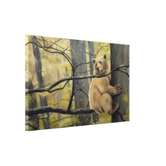 Spirit Bear Canvas Prints Kermode Bear Painting