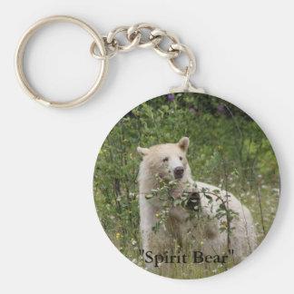 """""""Spirit Bear"""" gifts Basic Round Button Keychain"""