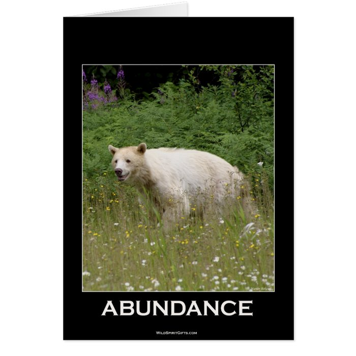 Spirit Bear Gifts Card