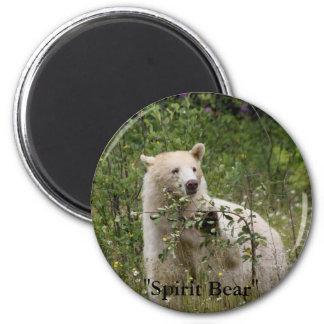 """Spirit Bear"" gifts Fridge Magnets"