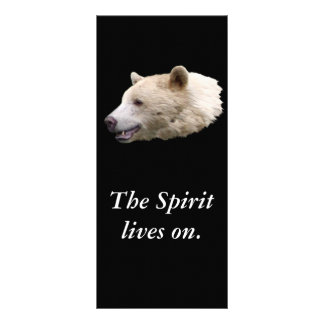 """Spirit Bear"" Gifts Rack Card"