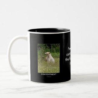 Spirit Bear Gifts Two-Tone Coffee Mug