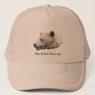 """Spirit Bear"" Kermode Bear Wildlife Hat"