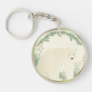 Spirit Bear keychain