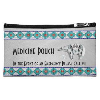 Spirit Bear Medicine Pouch Makeup Bag