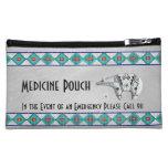Spirit Bear Medicine Pouch Makeup Bags