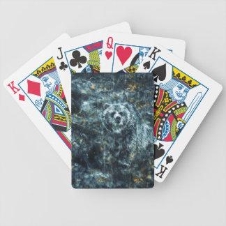Spirit Bear Bicycle Playing Cards
