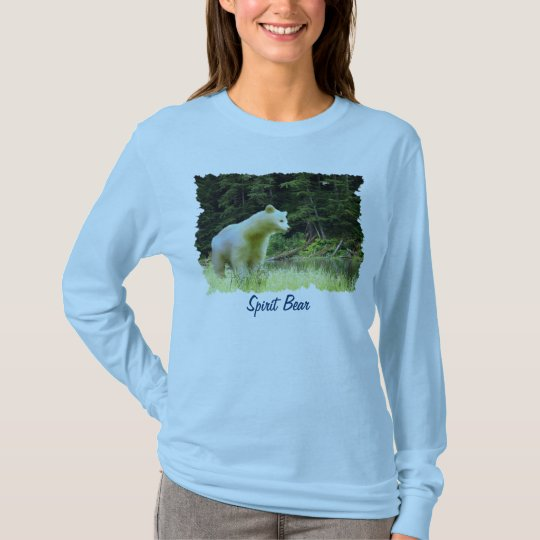 SPIRIT BEAR & RAINFOREST Wildlife Fashion Shirt