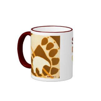 Spirit Bear Ringer Coffee Mug