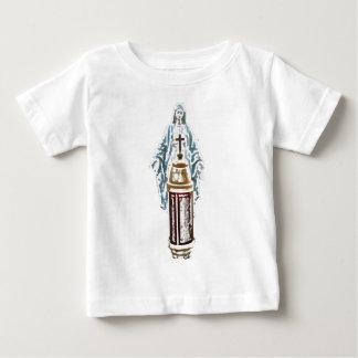 Spirit Beauty: Virgin & Cross Baby T-Shirt