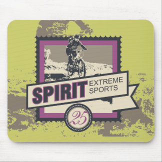 Spirit Bicycling Tshirts and Gifts Mouse Pad