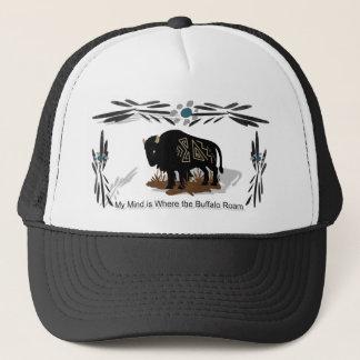 Spirit Buffalo Trucker Hat