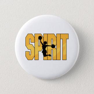 Spirit Cheerleading Button