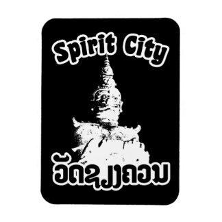 Spirit City - Wat Xieng Khuan, Vientiane, Laos Magnet