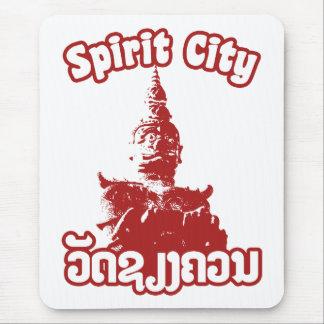Spirit City - Wat Xieng Khuan, Vientiane, Laos Mouse Pad