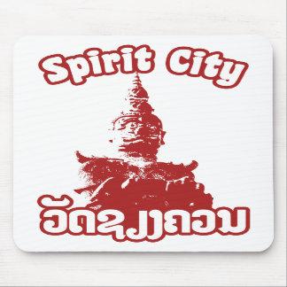 Spirit City - Wat Xieng Khuan Vientiane Laos Mousepads