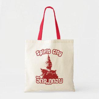 Spirit City - Wat Xieng Khuan, Vientiane, Laos Tote Bag