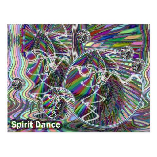 Spirit Dance postcard