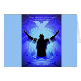 Spirit descending like a dove card