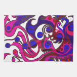 Spirit Dragon (Psychedelic) Kitchen Towels