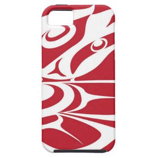 Spirit Eagle White on Red.jpg iPhone SE/5/5s Case