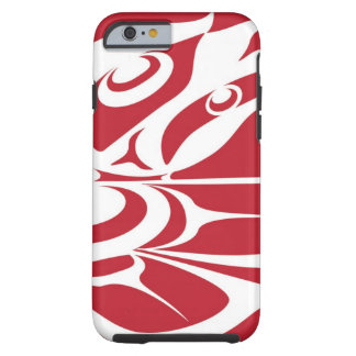 Spirit Eagle White on Red.jpg Tough iPhone 6 Case